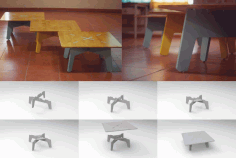 Low Table Download Free Vector DXF File