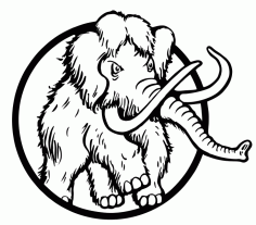 Mammoth Vector Art Free CDR File