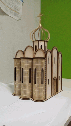 Masjid Design Laser Cutting Vector Free CDR File