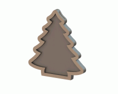 MDF Christmas tree CNC Laser Cut Free CDR File