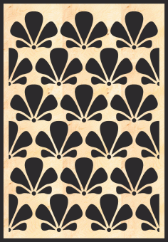 Mdf Decorative Grille Panel Pattern Free CDR Vectors File