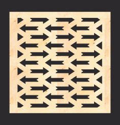 Mdf Decorative Screen Panel Pattern Free CDR Vectors File