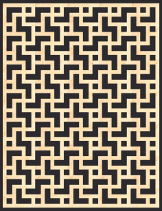 Mdf Decorative Screening Panel Pattern Free CDR Vectors File