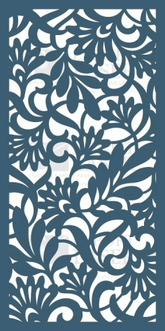 MDF Laser Cut Jali Pattern Free CDR Vectors File