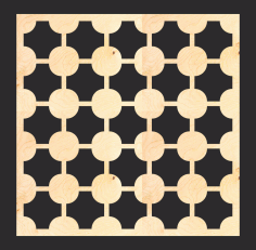Mdf Screen Pattern Free CDR Vectors File