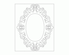 Mirror 04 Free DXF Vectors File