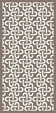 Modern Cnc Panel Screen Pattern Vector Free CDR Vectors File