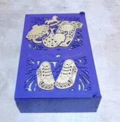 Mother's Treasure Box for Laser Cut CDR File