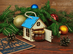 New Year Houses Souvenirs CDR File