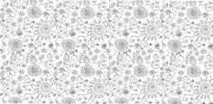 Nice Floral Background Free Vector CDR File