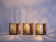 Night Light Lamps Laser Cut CDR File