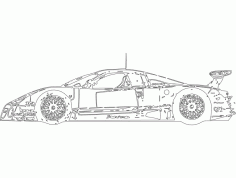Nissan 2 Free DXF Vectors File