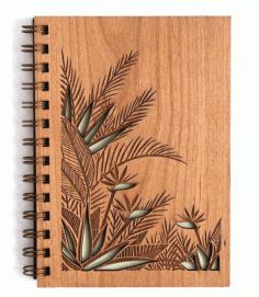 Notebook Cover Laser Cut CDR File