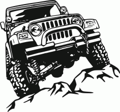 Off Road Sticker Free CDR Vectors File