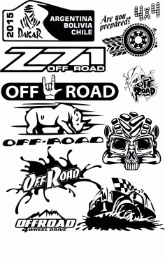 Off Road Vector Pack Free CDR Vectors File