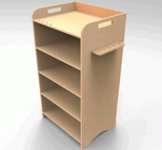 Office Cabinet Office Storage Rack 8mm Laser Cut CDR File