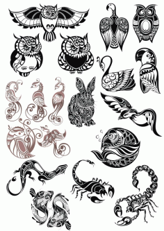 Original Animals Vector Pack CDR File