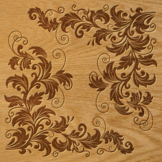 Ornament Pattern Free CDR Vectors File