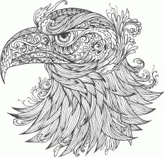 Ornamental Eagle Vector Free Download CDR File