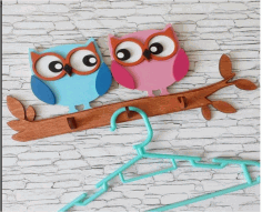 Owl Wall Hanger Free CDR File