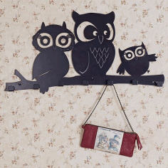 Owls Hanger Free CDR File