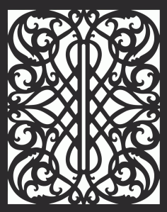 Panel Pattern Free DXF Vectors File