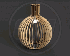 Pendant Light Chandelier Lamp Laser Cut CDR File