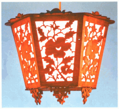 Pendant Light Laser Cut CDR File