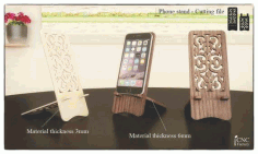 Phone Stand Cutting File Laser Cut Free CDR File