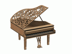 Piano Free Vector dxf file CDR File