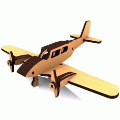 Piper Cherokee Aircraft Model Free DXF Vectors File