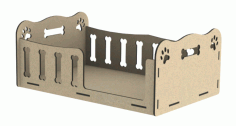 Place For Your Pet Laser Cut DXF File