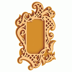 Plywood Frame Free DXF Vectors File
