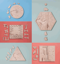 Puzzles for Kids Plywood 6 mm Laser Cut CDR File