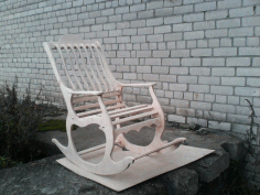 Relaxing Chair Laser Cutting DXF File
