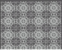 Repeating Geometric Pattern Free CDR Vectors File