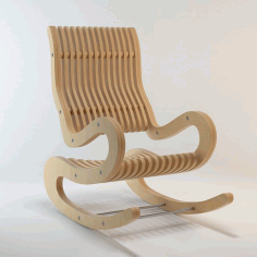 Rocking Chair CDR File Free DXF File