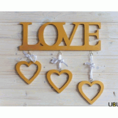 Romantic Frames Laser Cut Free Vector CDR File