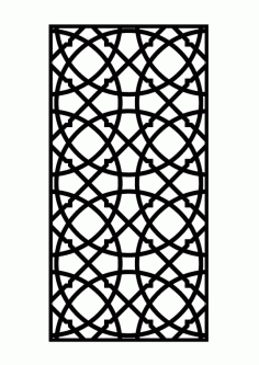 Room Divider And Grille Patterns Free Vector Dxf File DXF File