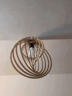 Round Chandelier Laser Cut CDR File