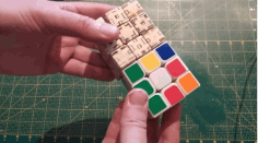 Rubiks Cube 3×3 Dxf Drawing Laser Cut DXF File