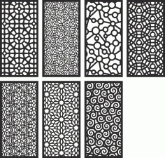 Screen Pattern Collection Free CDR Vectors File