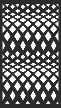 Screening Panel Pattern Free Vector CDR File