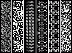Screens Patterns Free Vector CDR File