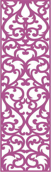 Set of Wrought Seamless Screen Pattern Free CDR File