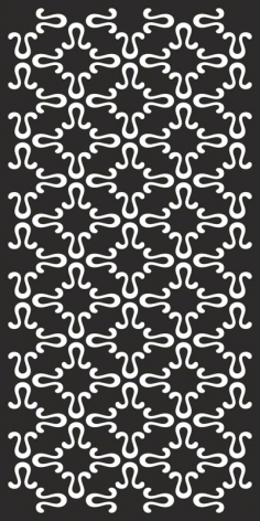 Simple Abstract Black And White Pattern Free CDR Vectors File