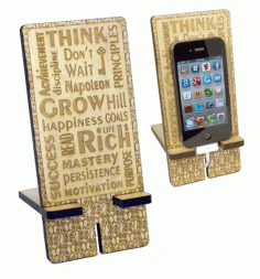 Stand for Smartphone Laser Cut CDR File