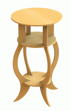 Table Stool Free DXF File
