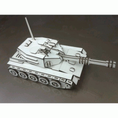 Tank Free DXF Vectors File