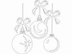 Things Festive Design 25 Free Download DXF File